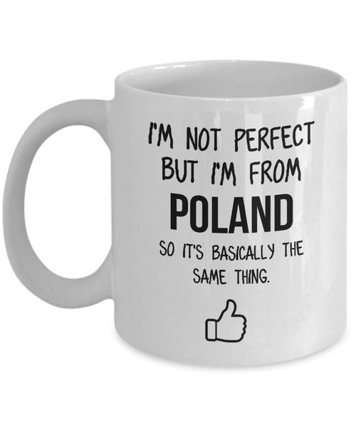 Poland Mug Country Hometown Gift For Friends Dad Home Country Mug Wife Gift Husband Coffee Mug -15oz