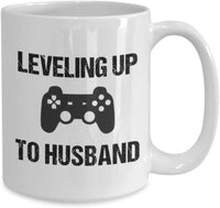 Leveling Up To Husband Coffee Mug