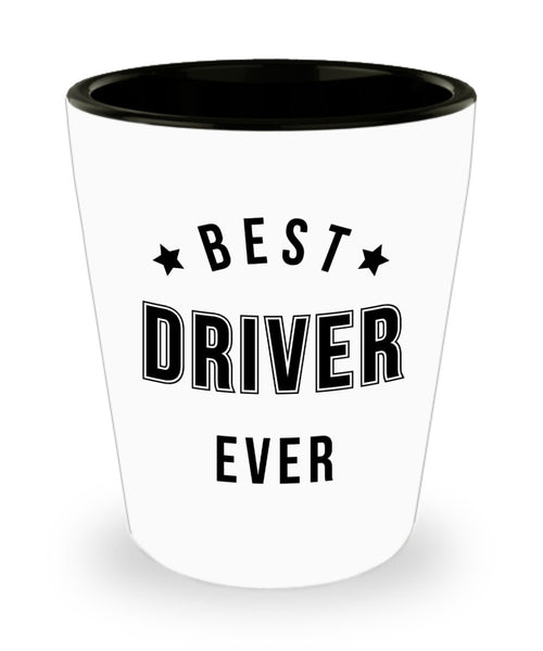 Driver For Men and Women Best Driver Gift Ideas Best Driver Ever Thank You for Driving Shot Glass 4/9e J