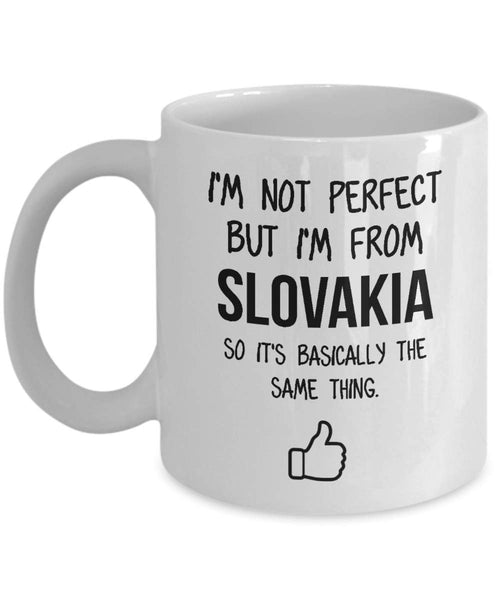 Slovakia Mug Country Hometown Gift For Friends Dad Home Country Mug Wife Gift Husband Coffee Mug -15oz