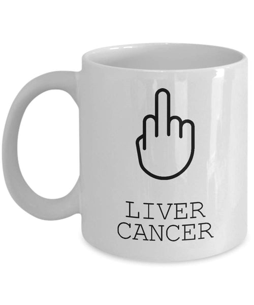 Liver Cancer Mug, Survivor Gift, Gift For Her, Patient Gift, Gift For Him, Illness Mug, Gift For Survivor -11oz