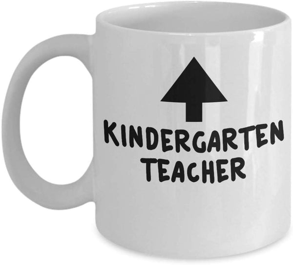 Kindergarten Teacher Here Coffee Mug 27/13 J