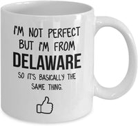 Delaware Mug Dad Gift Funny State Mug Gift For Friends Mom Gift City Hometown Mug Work Pals Mug Bff Gift -15oz