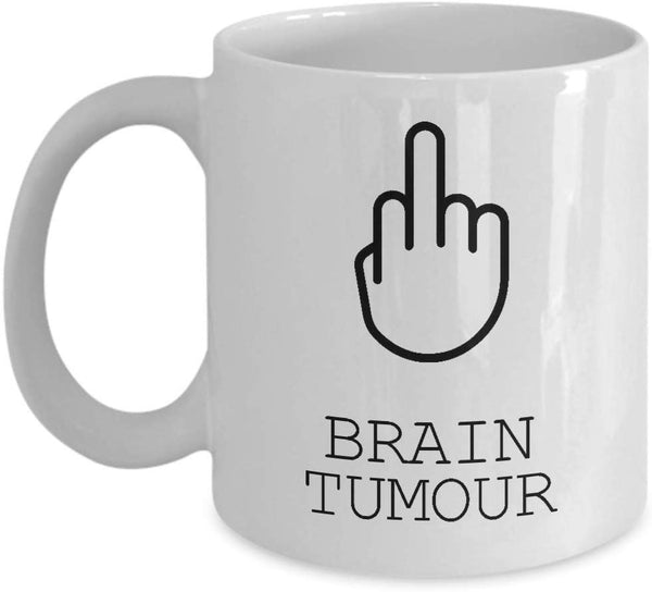 Brain Tumour Mug, Survivor Gift, Gift For Her, Patient Gift, Gift For Him, Illness Mug, Gift For Survivor -15oz