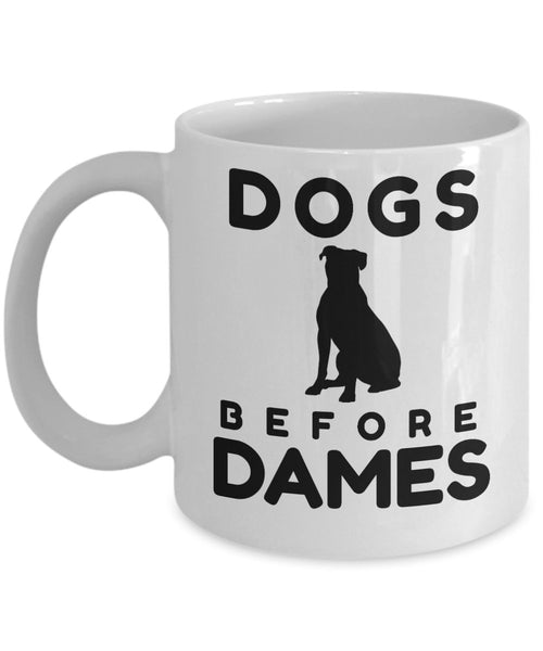 Men Dog Owners Dog Lover Fun Gift Dog Owner Dogs before dames 6/13A J