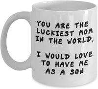 Gift for Her Birthday Present Gift Funny Coffee Mug 4/7 J