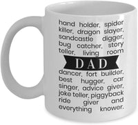 Dad is My SuperHero Mug, Best Dad Ever Mug 5/11
