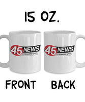 45 News Streaming Live Old Birthday Celebration Day of Birth Aunt Mother Father Coffee Mug Gift Ideas Tea Cup 23/24