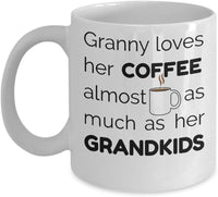 GrandMother Mug, Grandmother Coffee Mug 5/8