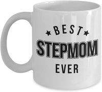 Best Step Mom Ever Coffee Mug Birthday Present Gift for Her 4/9 J