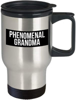 Phenomenal Grandma Travel Mug 8/11 J