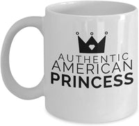 Authentic Princess Mug American Gift Daughter 5/17