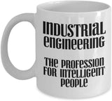 Industrial Engineering The Profession for Intelligent People Coffee Mug 28/27 J