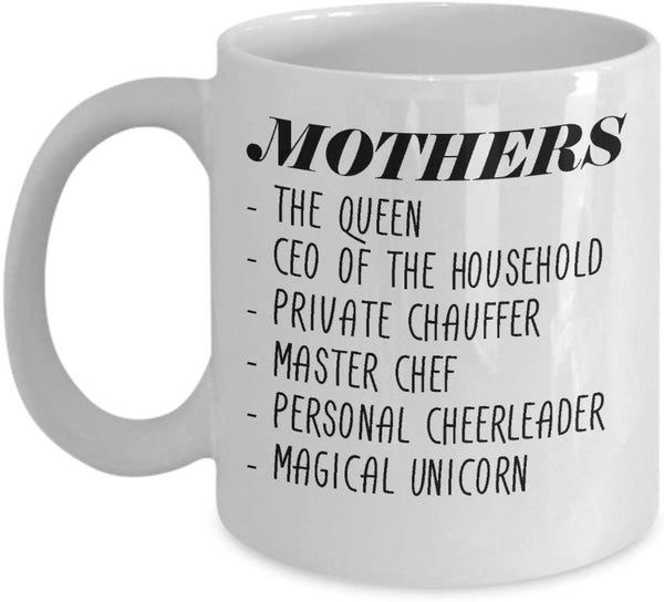 Mother's Day 2019 Best Mom Mug Gift For Mama Mom Life Motherhood Funny Mother Gift Md3 J -15oz