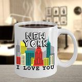 New York I love You Travel Destination Place City of Dreams Gift Ideas Coffee Mug Tea Cup Hot Drinking Cafe Cup 25/11