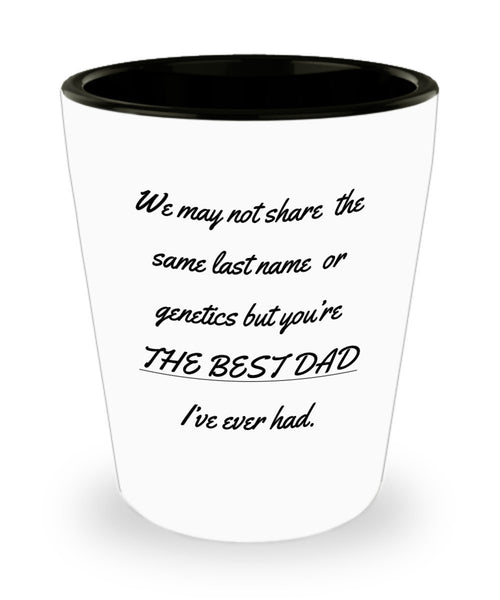 The Best Dad Shot Glass 2/20 J