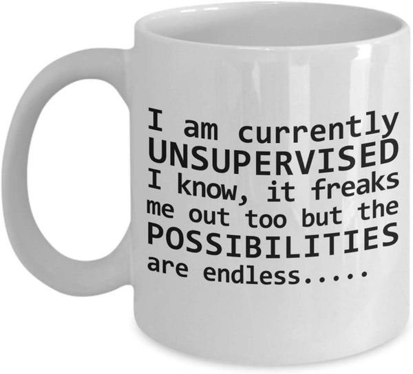 I am currently unsupervised. I know 3/12
