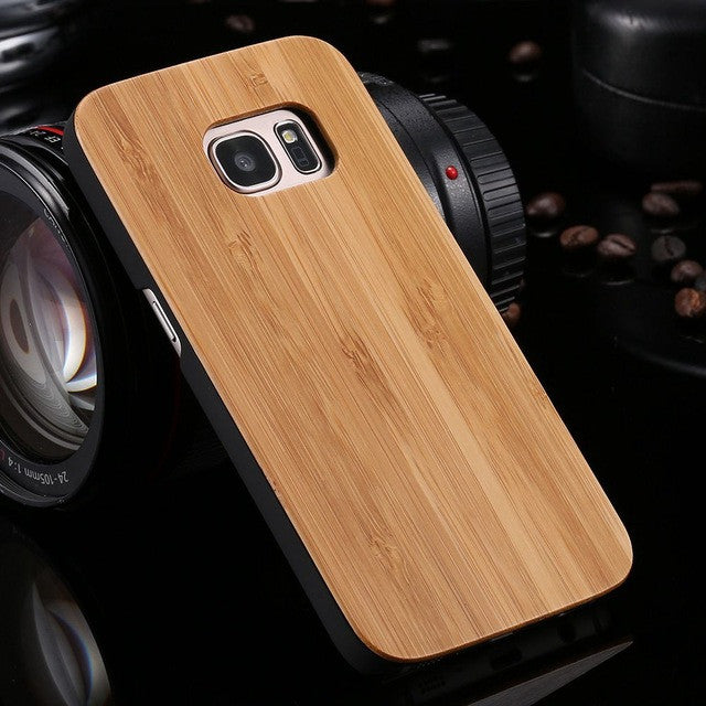 "Available Now! The ""Classic"" Samsung Wooden Phone Cases For Galaxy 8 and 8 Plus"