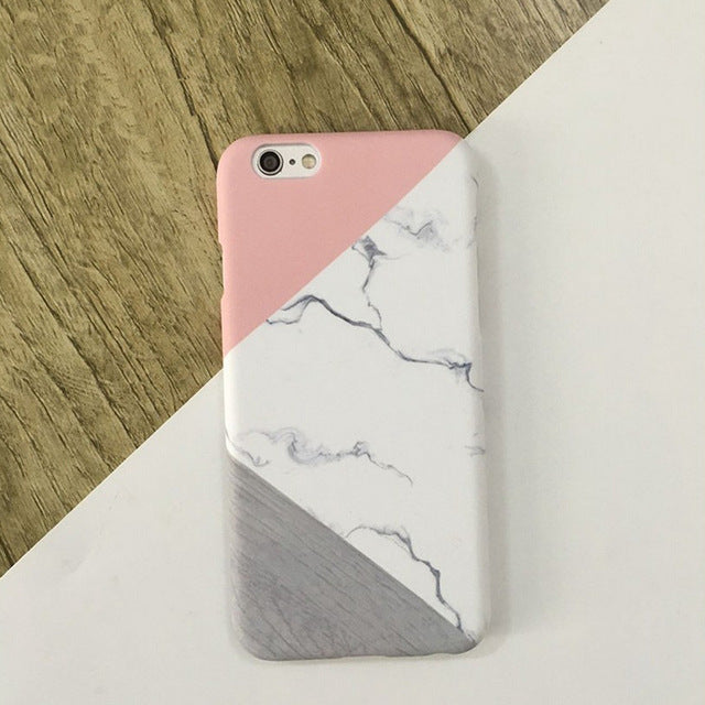 Pink Romantic Marble Phone Case