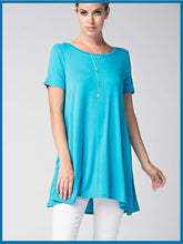 Let's Go Seaside Short Sleeve Tunic
