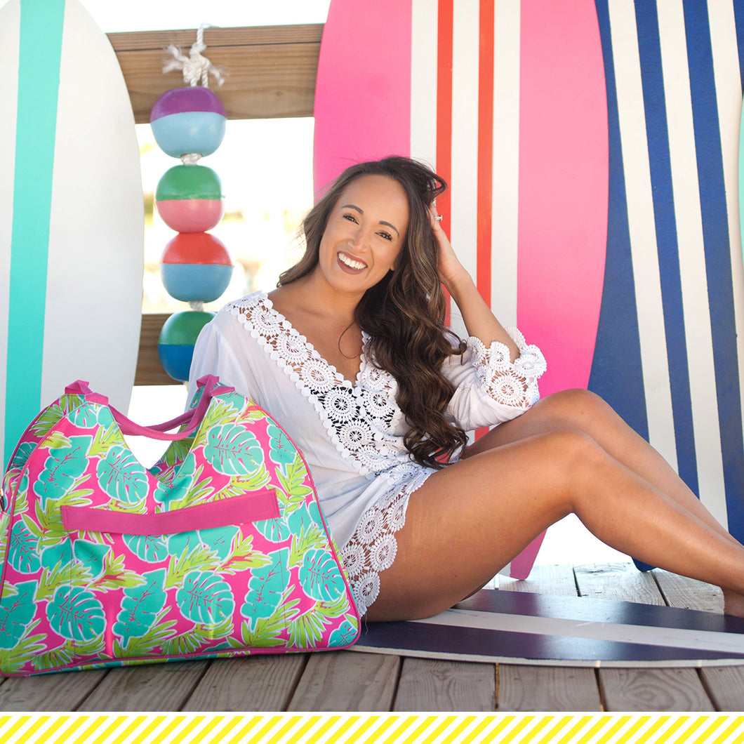 Viv&Lou Totally Tropics Beach Bag