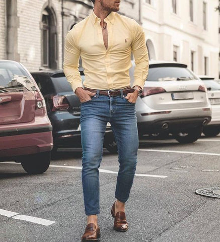 Outfit Inspiration Brown loafers