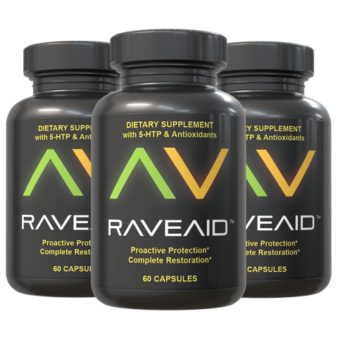 3 Bottles of RaveAid