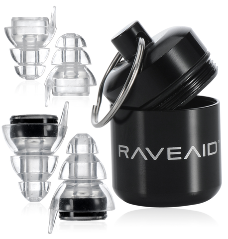 RaveAid High Fidelity Earplugs