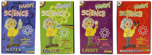 Handy Science Kits Bundle (Set of 4)