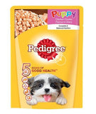 Pedigree Puppy Chicken Chunks Flavour In Gravy 80 Gm - Pack of 8