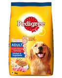 Pedigree Adult Chicken and Vegetables 5 Signs 3Kg
