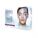 Lotus Herbals Radiant Platinum Cellular Anti-Ageing Single Facial Kit