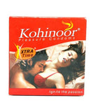 Kohinoor Xtra Time 10's Condoms- Pack of 3