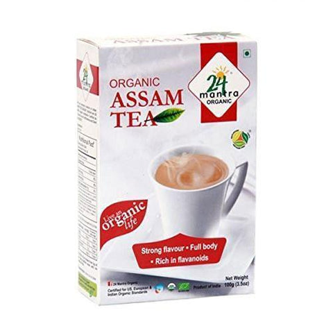 24 Mantra Assam Tea 25 Tea Bags) - Boost Immunity,Stress Relief & Improves Digestion