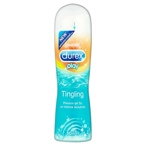 Durex Play Lubricant Gel, Tingling- 50 ML