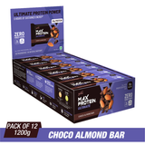 Ritebite Max Protein Ultimate Choco Almond Bars (100 Gm X 12)