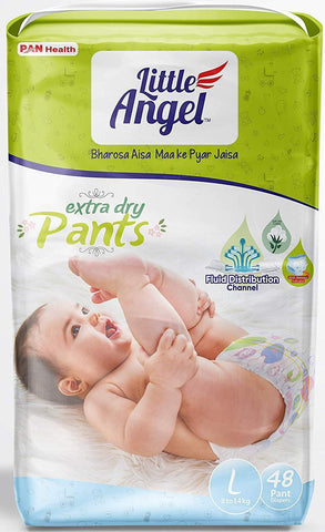 Little Angel Baby Pull Ups - Large (48 Pieces)