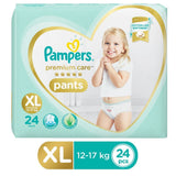 Pampers Premium Care Pants Diapers - Extra Large Size 24 Pcs