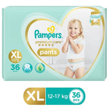 Pampers Premium Care Pants Diapers - Extra Large Size 36 Pcs