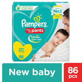 Pampers New Diapers Pants - Extra Small Size 86 Pcs