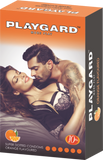Playgard More Play Super Dotted Orange 10's condom- Pack of 3