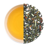 Teafloor Pomegranate Medley Green Tea 100GM  - prevent Cancer, Boost Immunity, Weight Loss & Improves  Digestion