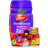 Dabur Chyawanprash Awaleha Mixed fruit with Dabur Honey Free 500 GM