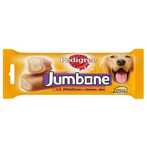 Pedigree Jumbone Medium Chicken and Rice 200gm - Pack of 2