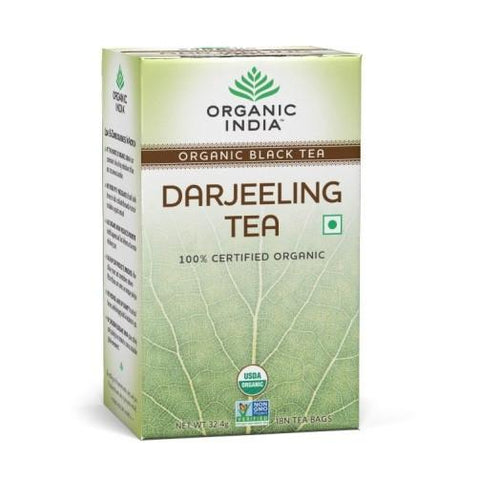 Organic India Darjeeling 18 Tea Bags- Pack of 2