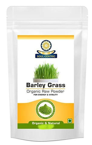 Soul-Centric Organic Barley Grass Powder - For Vitamin, Mineral, Fight Infections, Viral