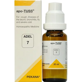 ADEL 7 Apo-Tuss Drops 20Ml For Cough, Bronchitis, Flu & Respiratory Problems