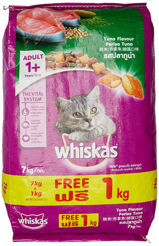 Whiskas OceanFish Cat Food 7kg Free 1 kg