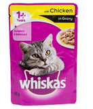 Whiskas Adult Chicken 85gm - Pack of 8