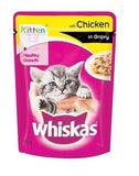 Whiskas Kitten Chicken 85gm - Pack of 8